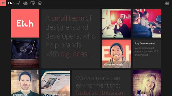 site de design