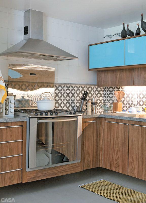 Cozinhas cheias de estilo – Design Culture # Cozinha Planejada Na Cor Azul Turquesa