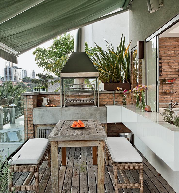 12 reas de lazer e varandas encantadoras design culture. Black Bedroom Furniture Sets. Home Design Ideas