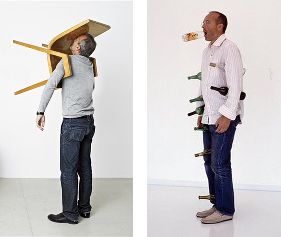 Erwin Wurm-One-minute-sculpture