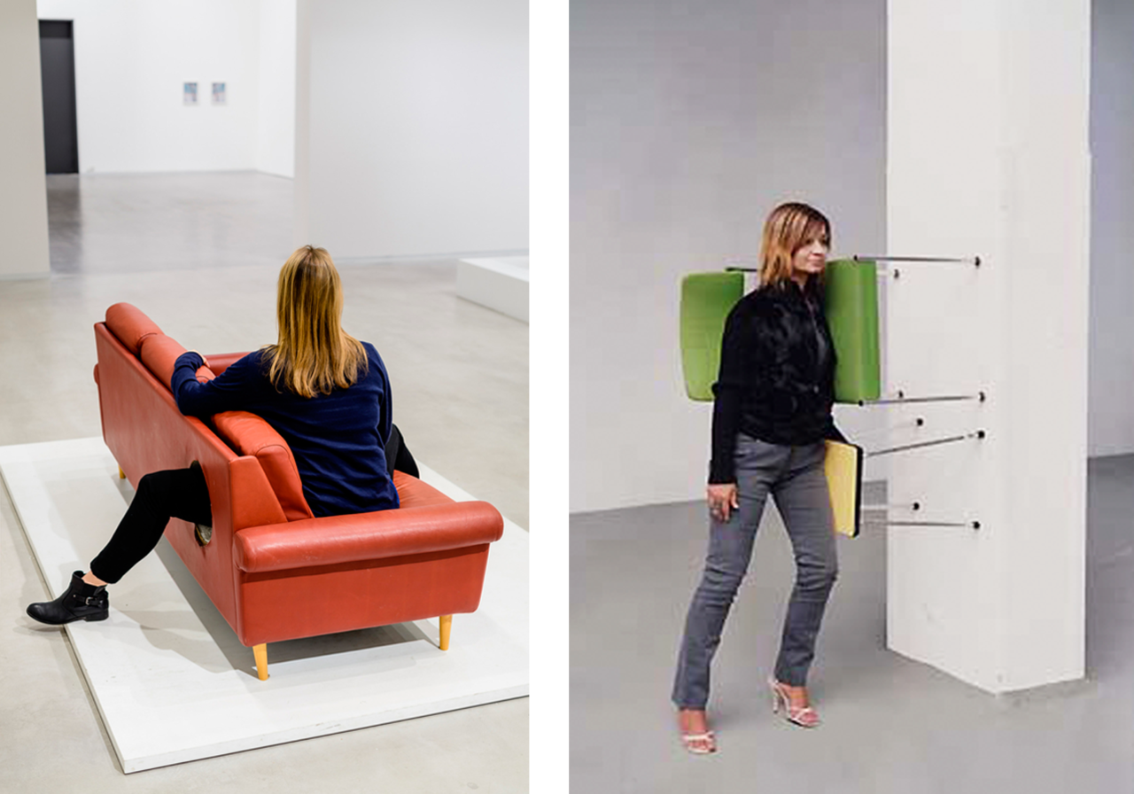 Erwin Wurm, One Minute Sculture