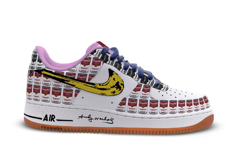 O encontro da Nike e Andy Warhol – Design Culture 8b7cd1bb95