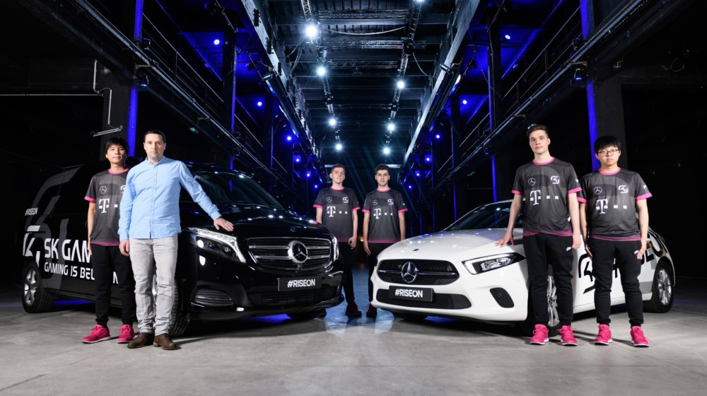 Mercedes e SK Gaming - Design Culture